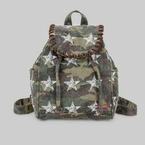 SALE Peace Love World Mini Camo Stars Backpack …